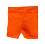 Neon Orange Glitter Hotpants