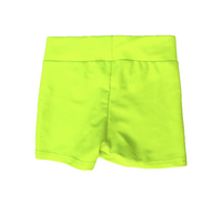 Neon Yellow Hotpants