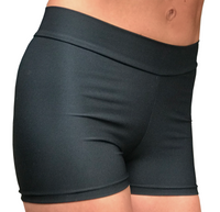 Matt Black Hotpants