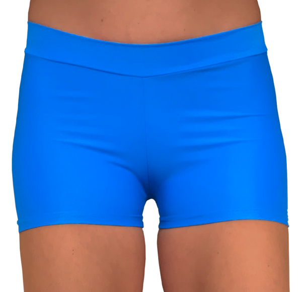 Matt Royal Blue Hotpants