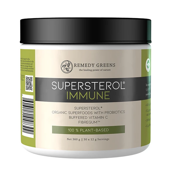 * Remedy Greens SuperSterol® Immune 360g