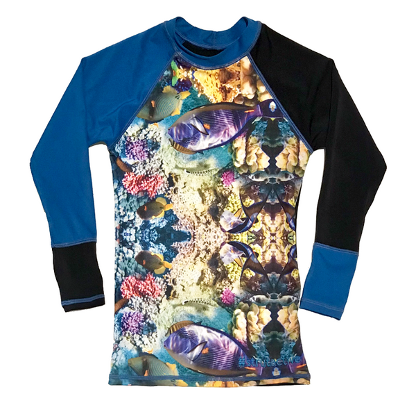 Oceanic & Blue Long Sleeve Rashvest