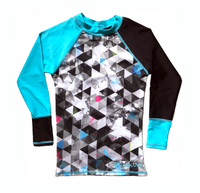 Urban Geo & Hawaii Long Sleeve Rashvest
