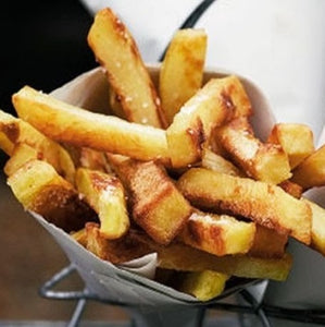 Organic Triple Cooked Chips (vg,gf)