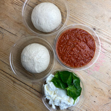 Load image into Gallery viewer, Sat 20th | Chef's Special Pizza Kit (For Two) | Red Onion, Basil & Goats Cheese