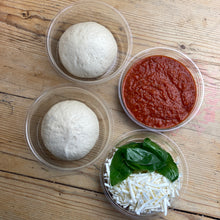 Load image into Gallery viewer, Saturday 20th | Vegan Pizza Kit (For Two) | Vegan Cheese, Roast Cauliflower & Basil
