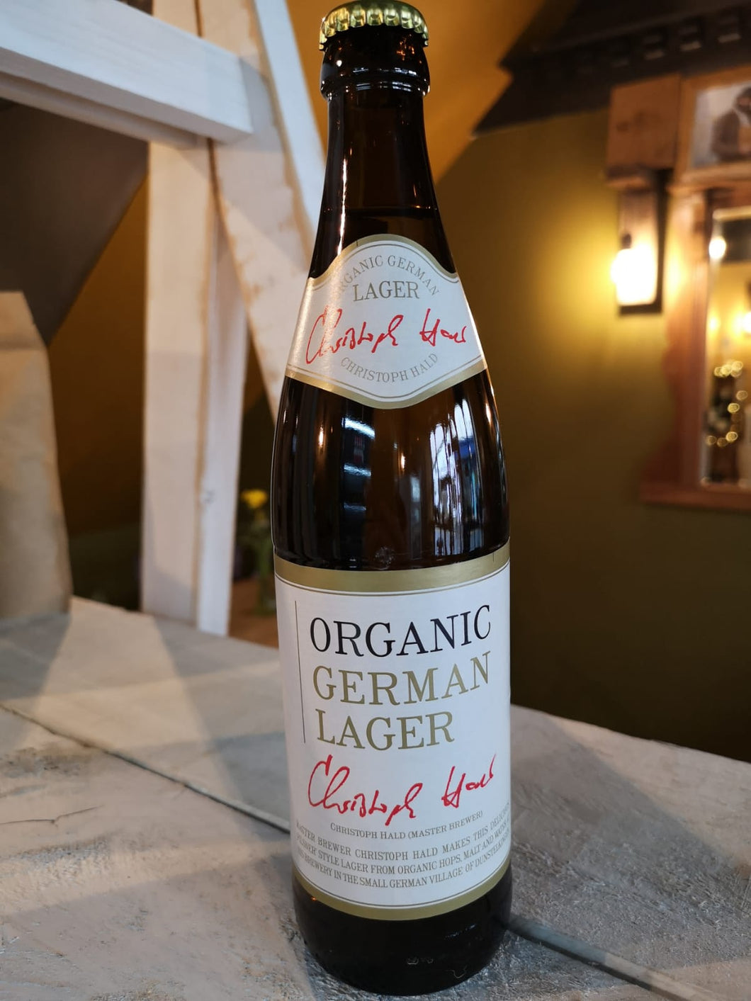 Organic German Lager