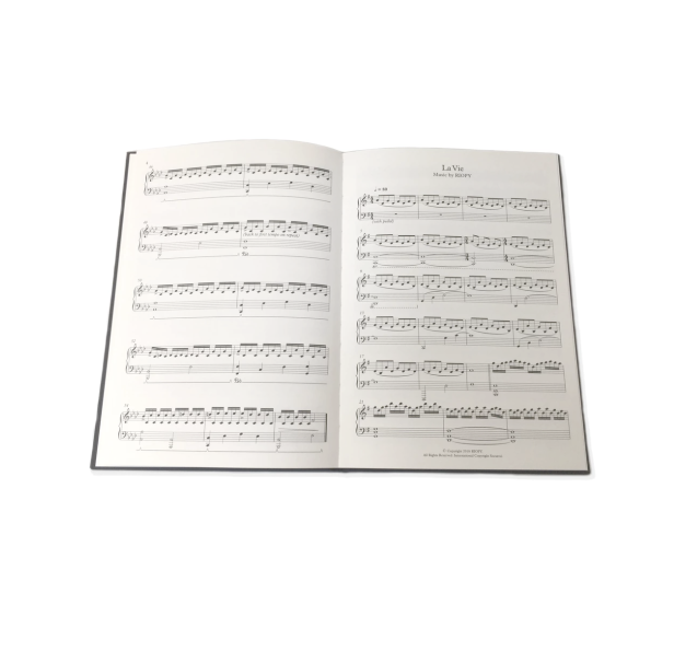 RIOPY Sheet Music Book