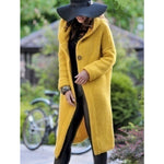 Large Size Solid Color Sweater Women's Jacket Long Knit Cardigan Loose Sweater Knitted Coat