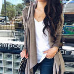 Autumn Women Suede Faux Leather Jackets