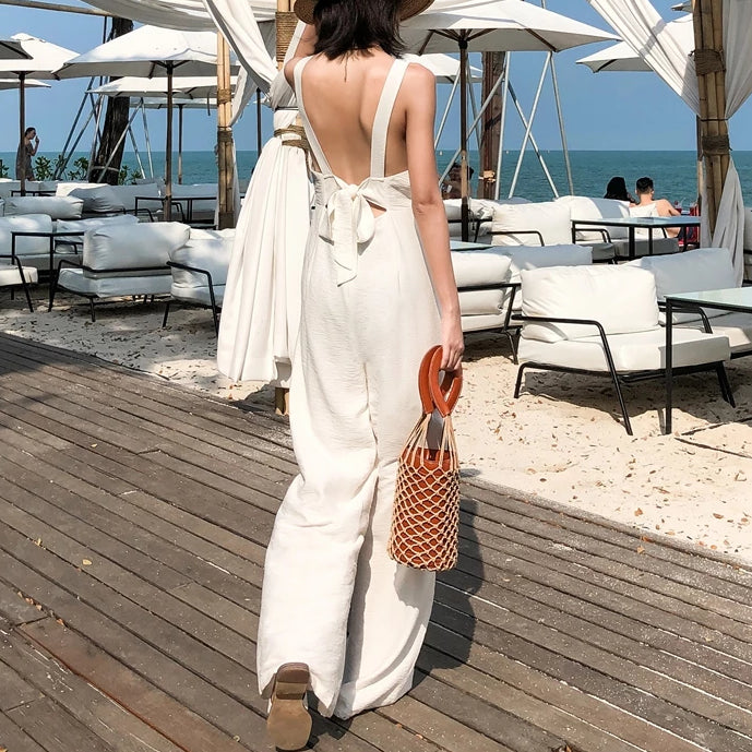 Fashion Bodycon Hot Backless Summer Jumpsuit