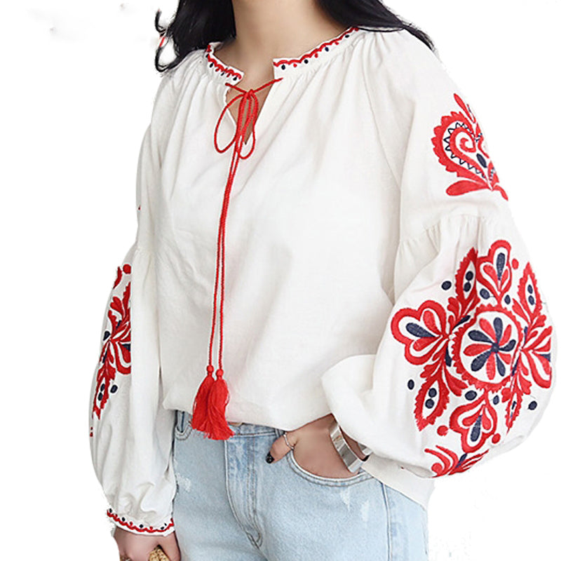 cotton blouse soft fabric boho