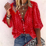 2019 Spring Autumn Women Blouses Button Befree Boho Ruffles Long Full Sleeve Vintage Casual Chiffon Plus Sizes Tops Shirts