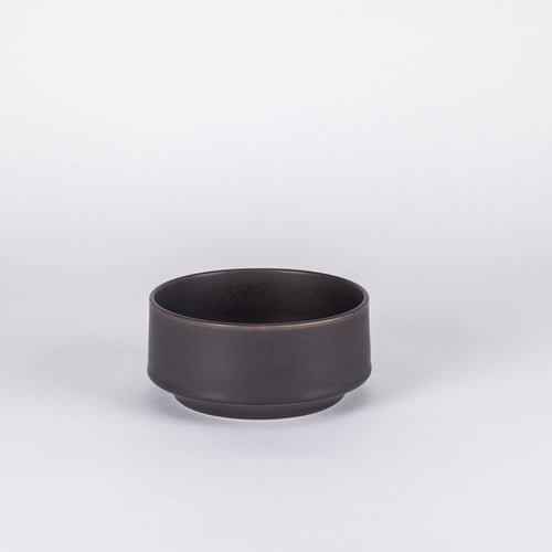 Atlas Large Bowl, Matte Black
