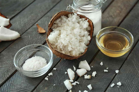 honey and coconut oil for hair