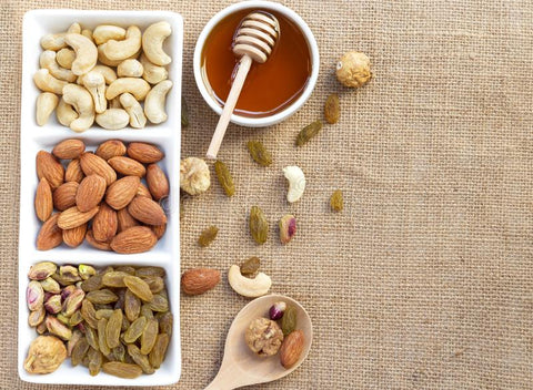 dry fruits with honey benefits