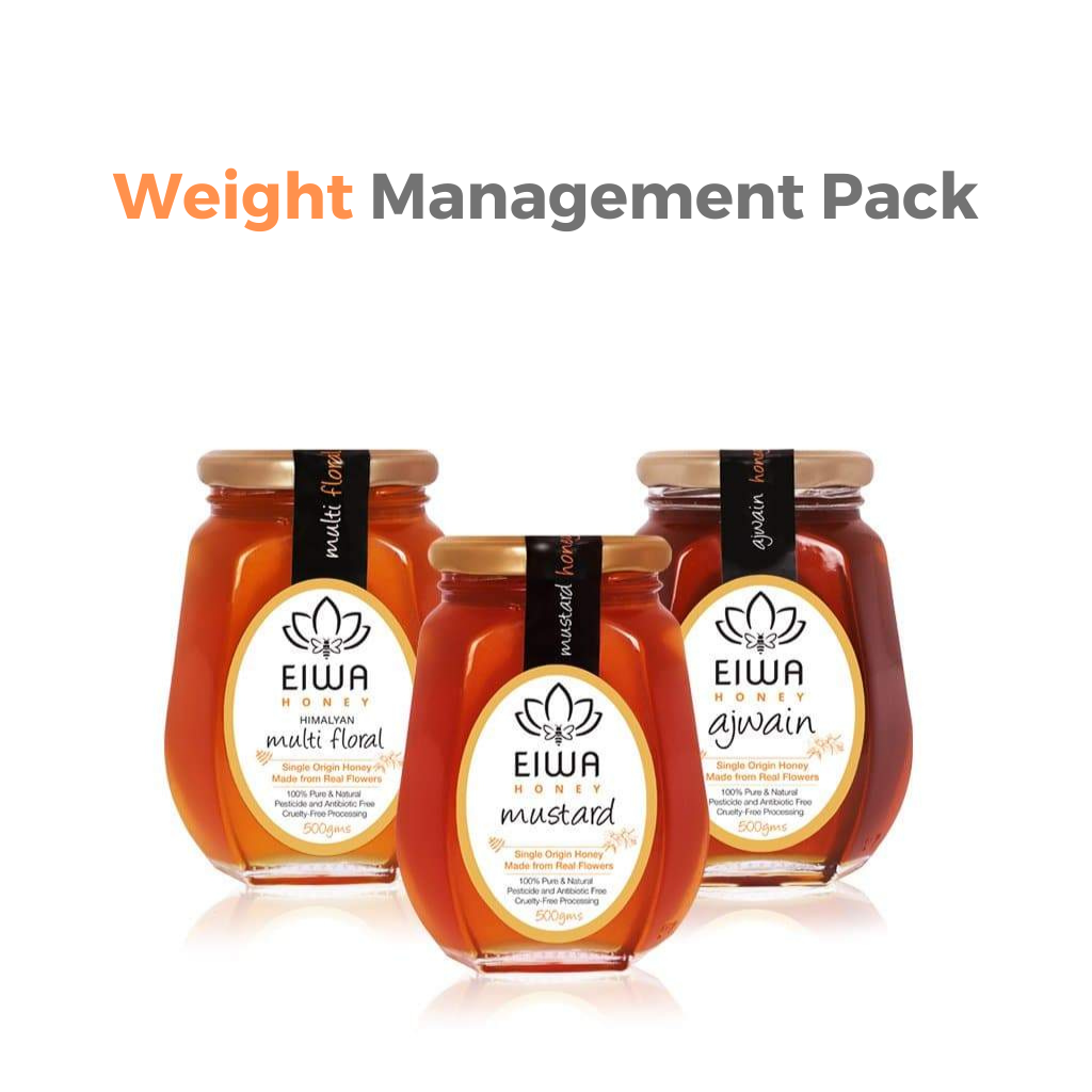 Weight Management Pack (Himalayan Multi-Floral, Ajwain, and Mustard)