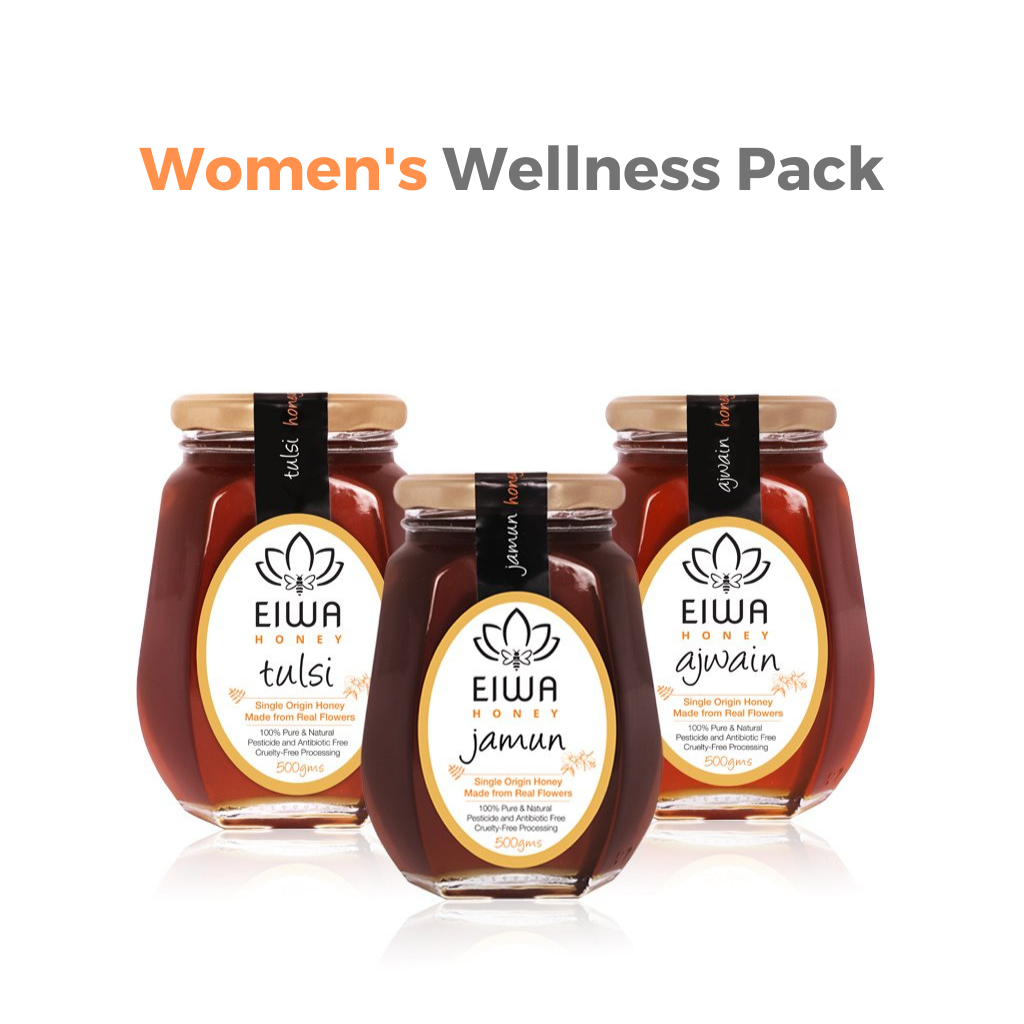 Women's Wellness Pack (Jamun, Tulsi, and Ajwain)