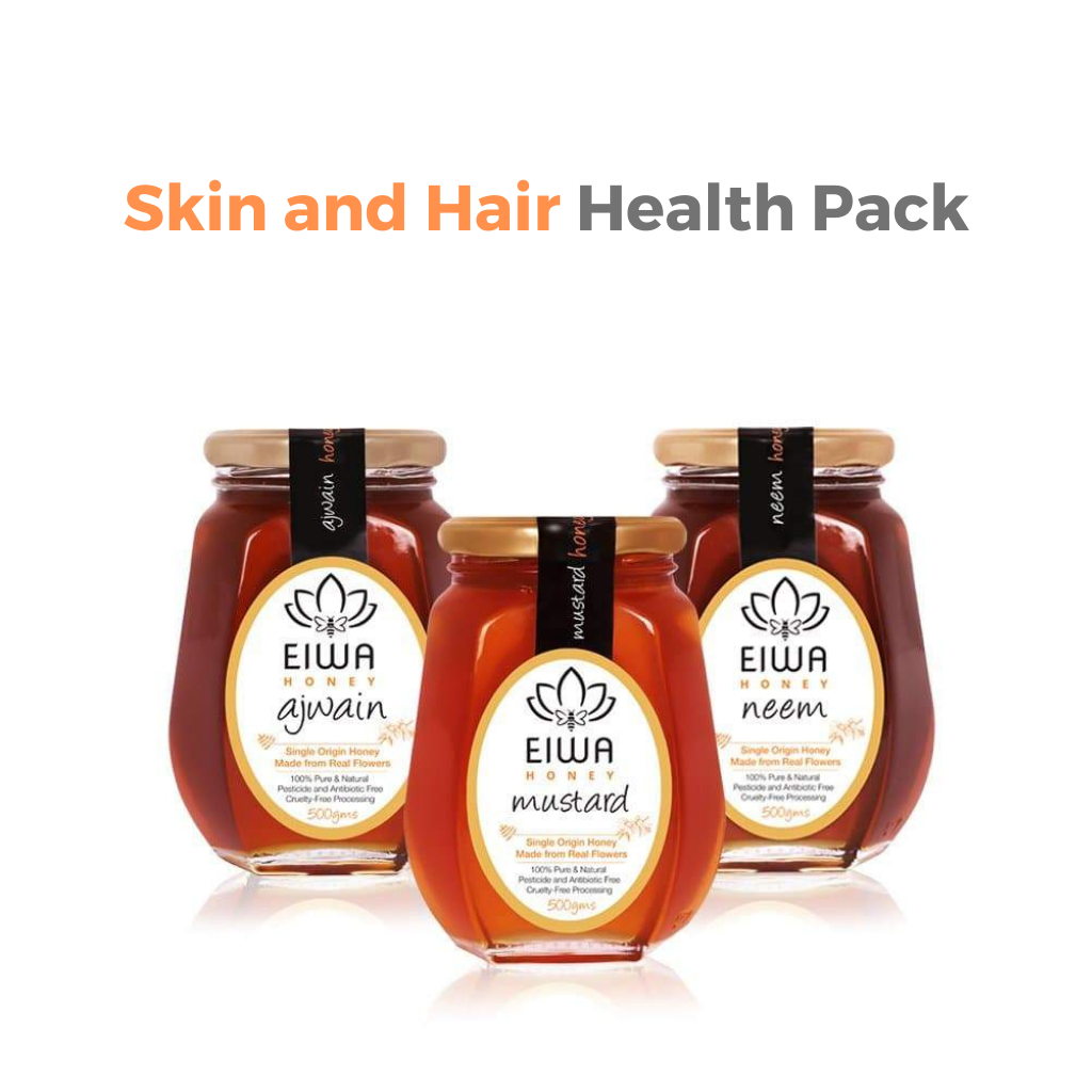 Skin and Hair Health Pack (Neem, Ajwain, and Mustard)