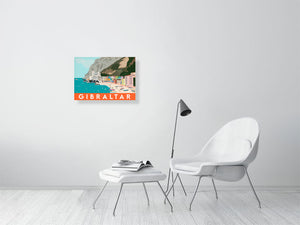 Gibraltar Catalan Bay Beach Print