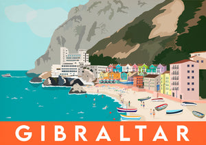 Gibraltar - Catalan Bay Orange