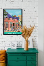 Load image into Gallery viewer, Travel poster of Buenos Aires Palermo Soho