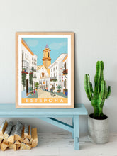 Load image into Gallery viewer, Travel poster of Estepona, Spain
