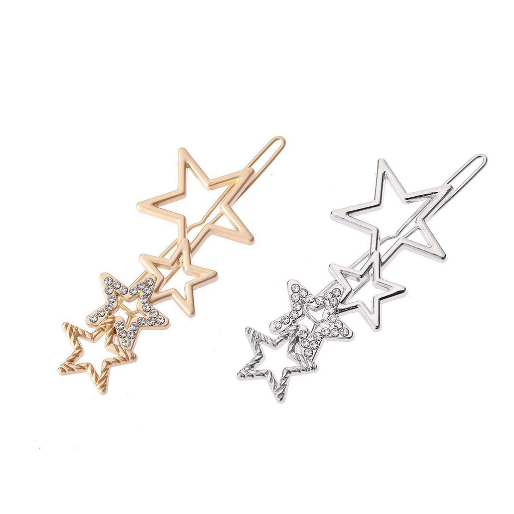 Diamond/Pearl Hair Clips (2 Piece Set)