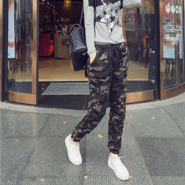 Tapered Camouflage Pants