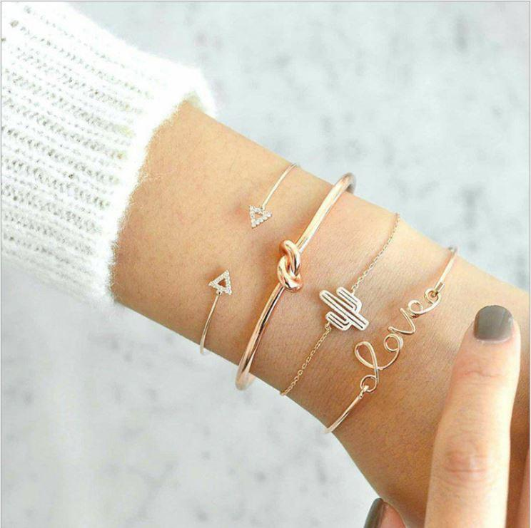 Bohemian LOVE Bracelets (4 Piece Set)