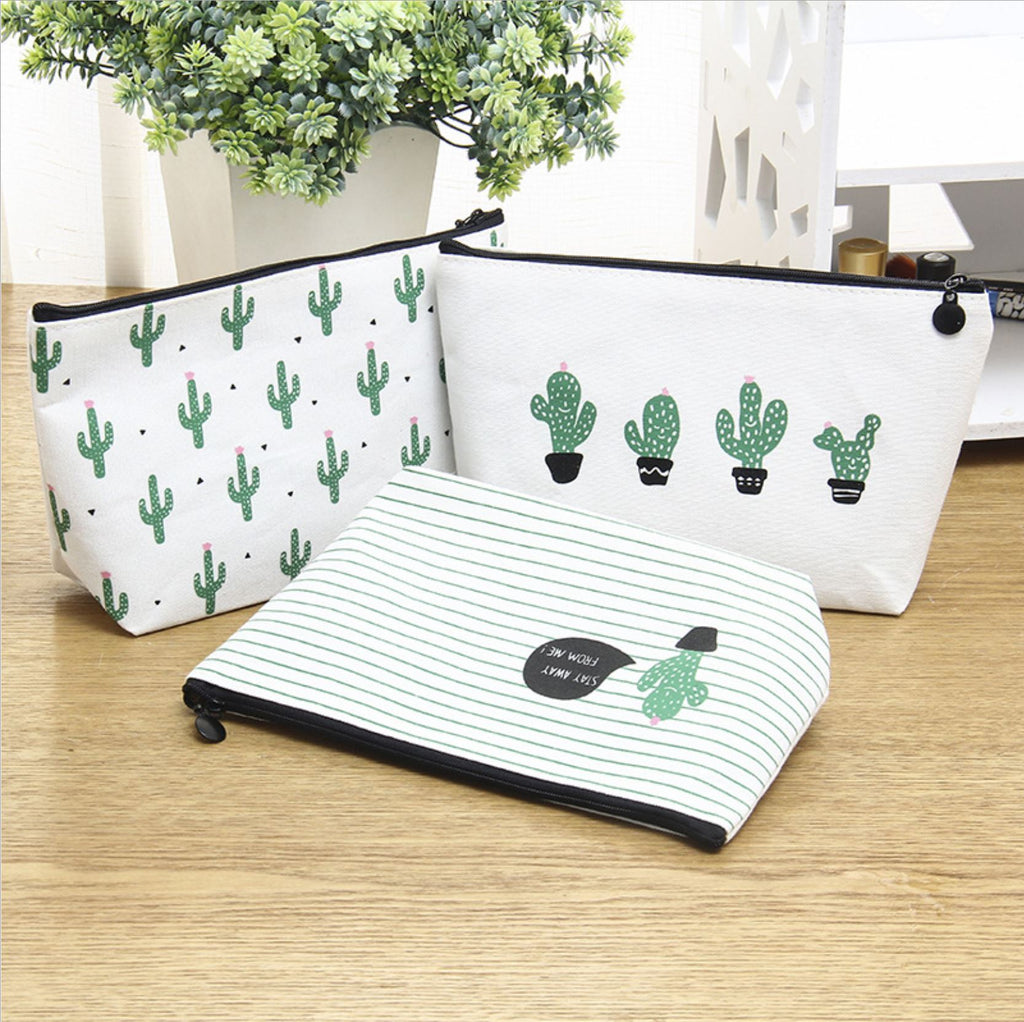 CACTUS Makeup Bag