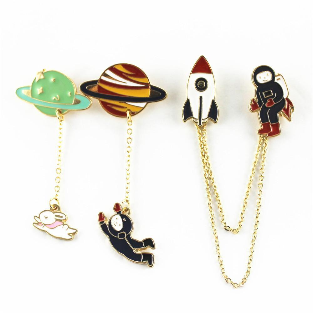 Cartoon Brooches (3 Styles)