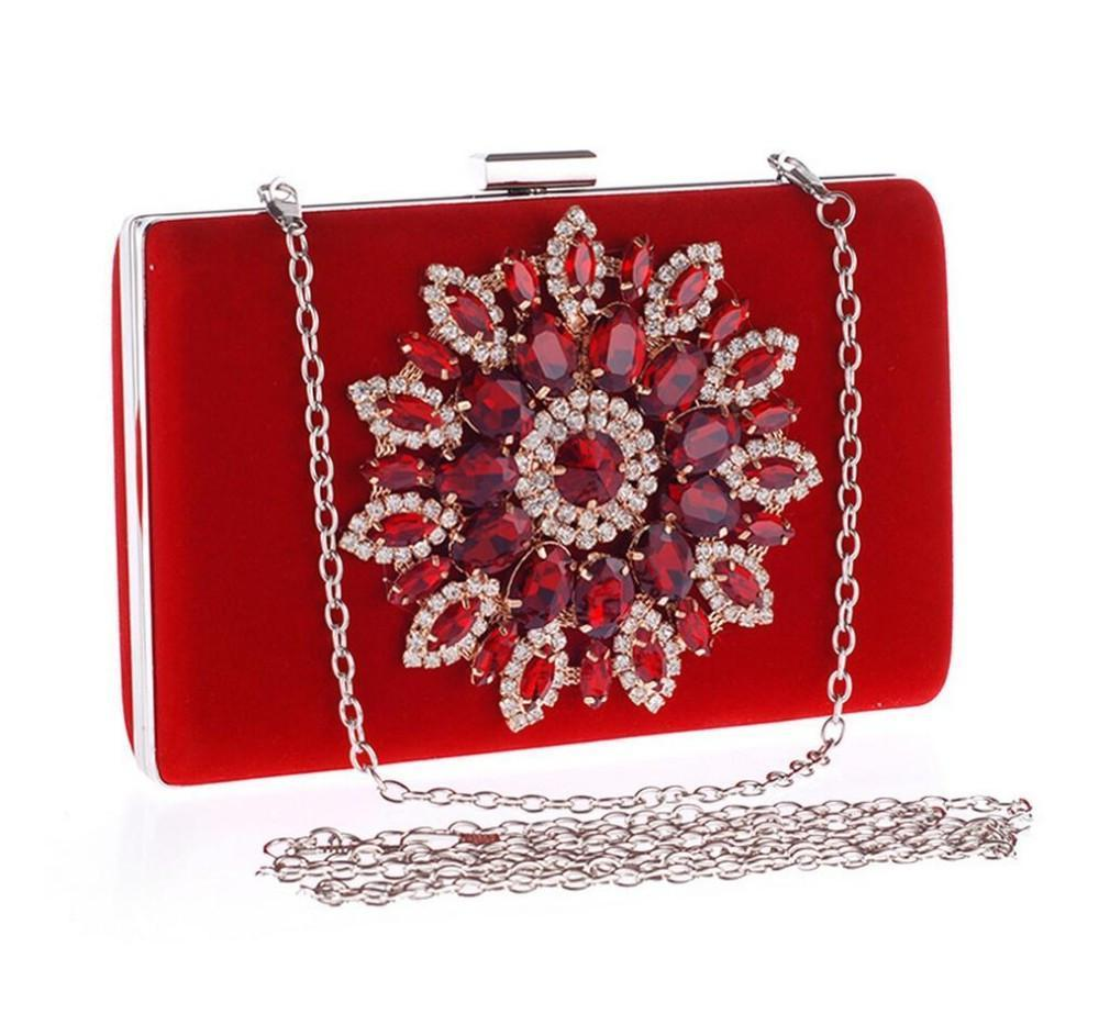 Evening Clutch With Jewels
