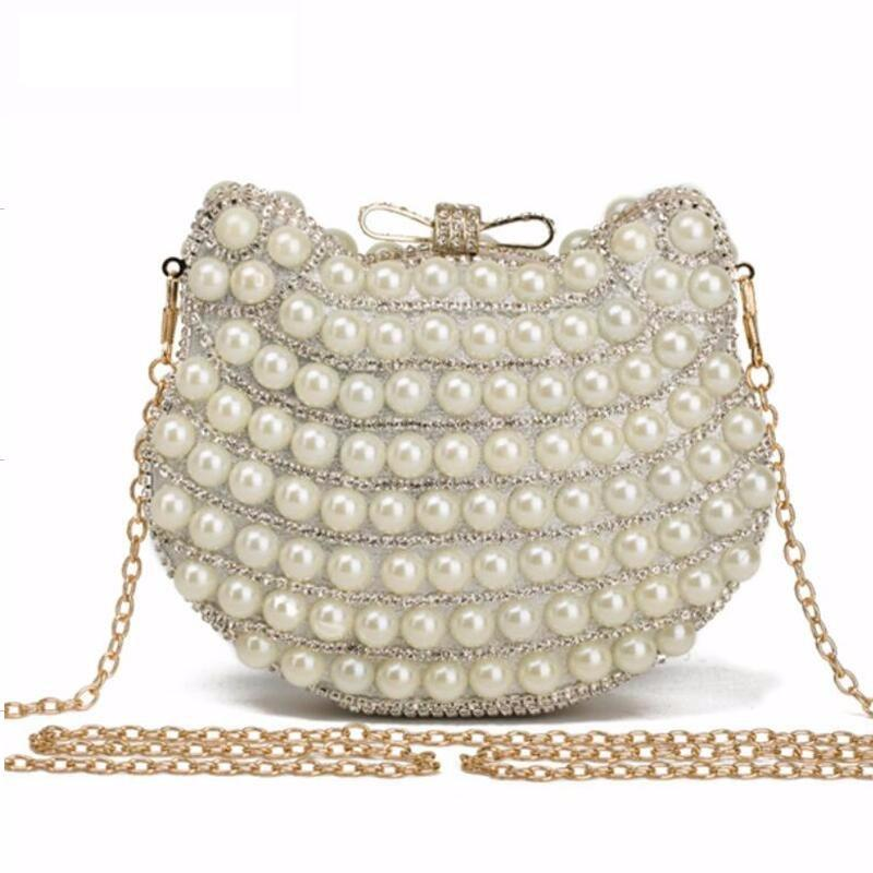 Evening Clutch With Pearls