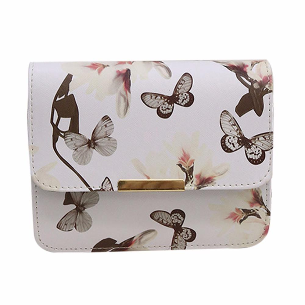 Flower & Butterfly Bag (2 Colors)