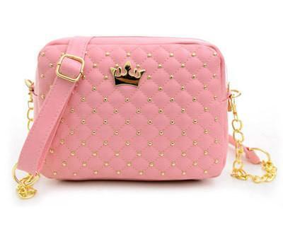 Quilted Crown Crossbody