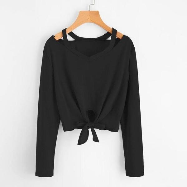 Bow Tie Long Sleeve Shirt