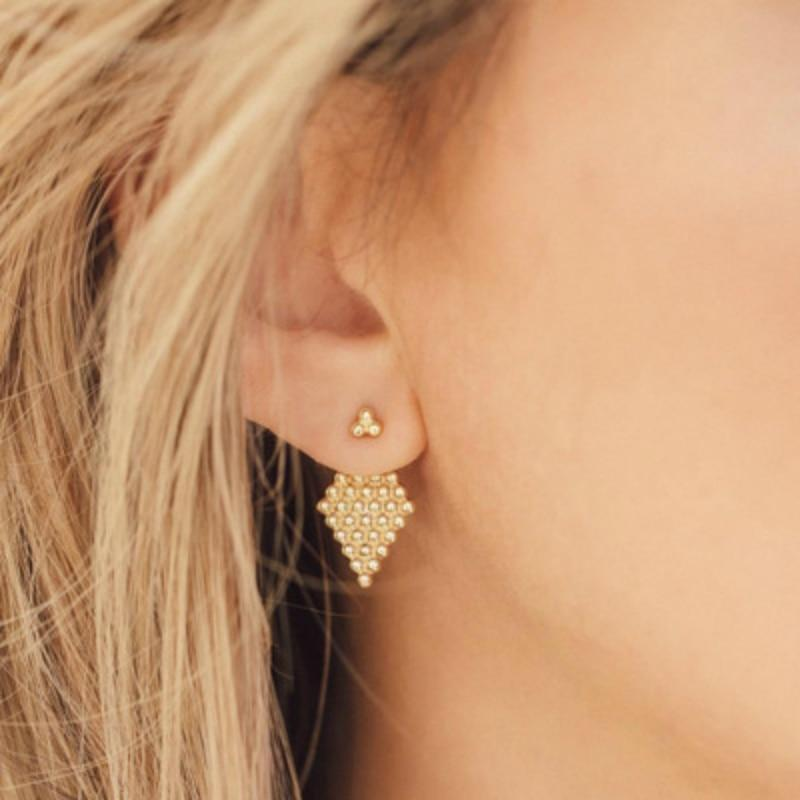 Argyle Stud Earrings