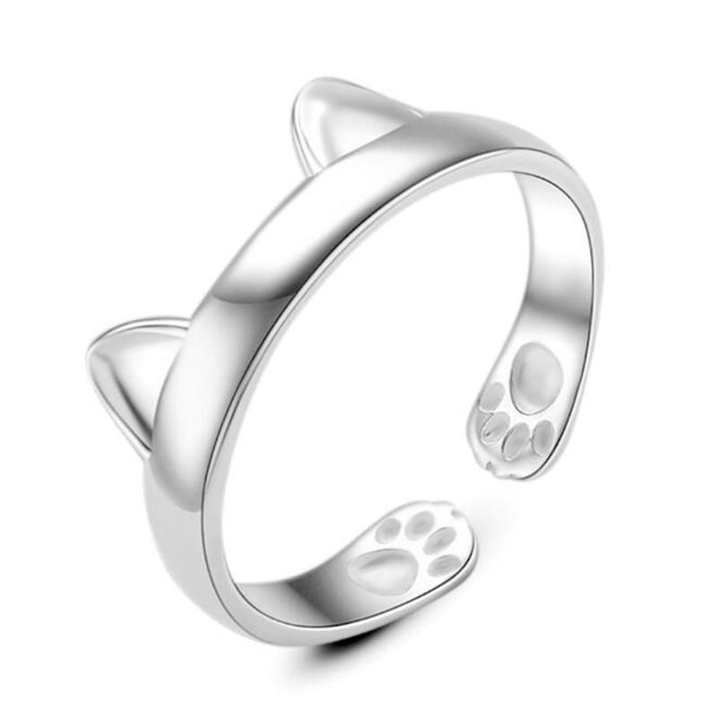 Cat Paw Ring (Size Adjustable)