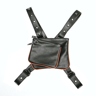 Onyx Crossbody Convertible Clutch - Black - BOCK:ARIE