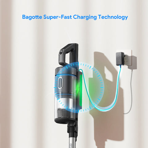 Bagotte BAF80 360° Circulation Hot Air System, Knob Controls & Touch Screen Air Fryer