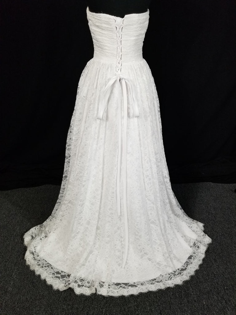 Romantic lace ballgown