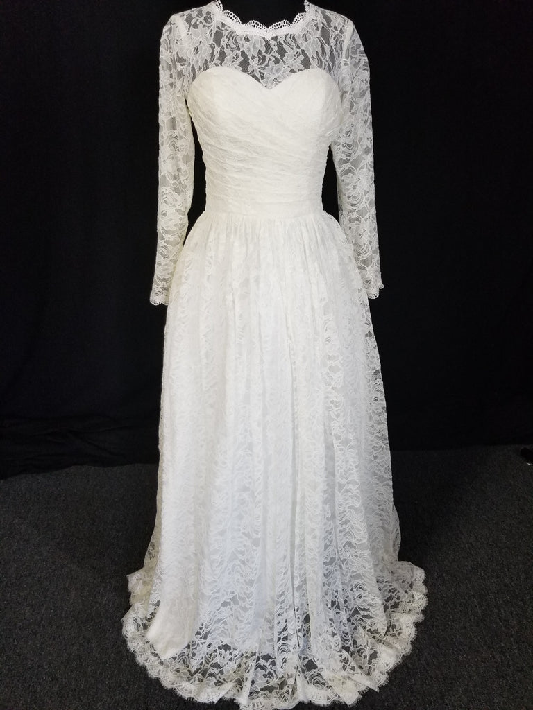 Lace ballgown