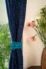 Twist and Twill Hand-Knotted Curtain Tie-back