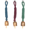 Classic Hand-Knotted Wind Chime with Metal Bell