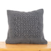 Diamond Hand-Knotted Cushion Cover
