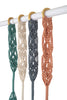 Dash and Diamond Hand-Knotted Curtain Tie-back