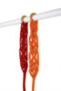 Double Length Hand-Knotted Curtain Tie-back