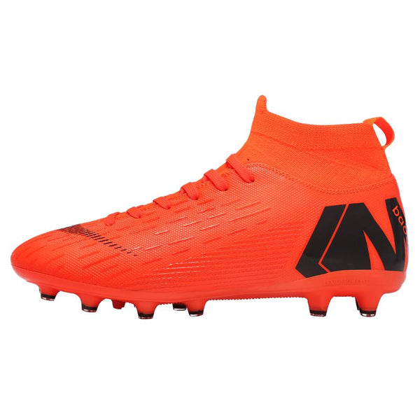 Men Women Soccer Shoes Hard Training Football Boots Sport Sneakers - Ylime