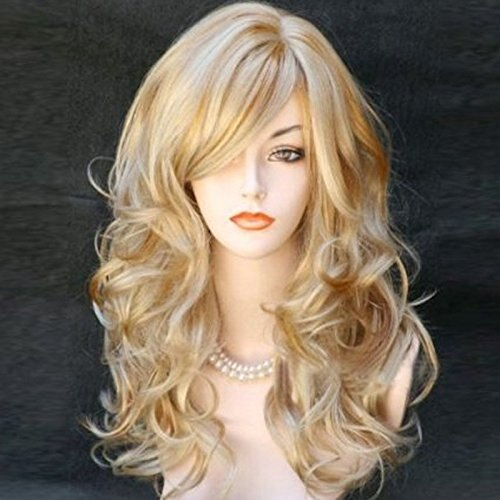 Long Wavy Natural Blonde Looking Wig - Ylime